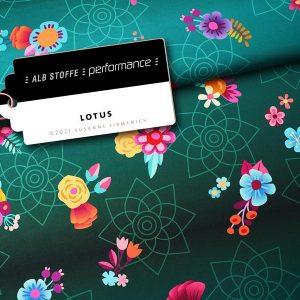 Nieuwste producten bij Mevrouw Jett Performance Lotus Petrol Stofftraeume4you Hamburger Liebe Albstoffe 15