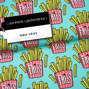 Nieuwste producten bij Mevrouw Jett Performance OMG Fries Mint Hamburger Liebe Albstoffe Stofftraeume4you