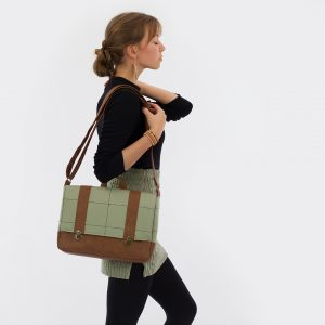 Producten in de SALE See You At Six Collection Autumn 2021 Tall Grid Tea Green Joy Canvas 50b