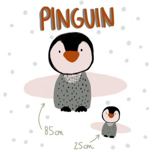 pinguin kussen