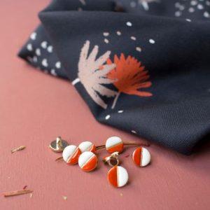 Nieuwste producten bij Mevrouw Jett palmetto night fabric 1